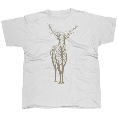 Deer2 mintás póló