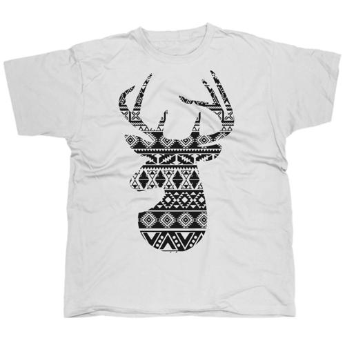 Deer1 mintás póló