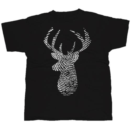 Deer3 mintás póló
