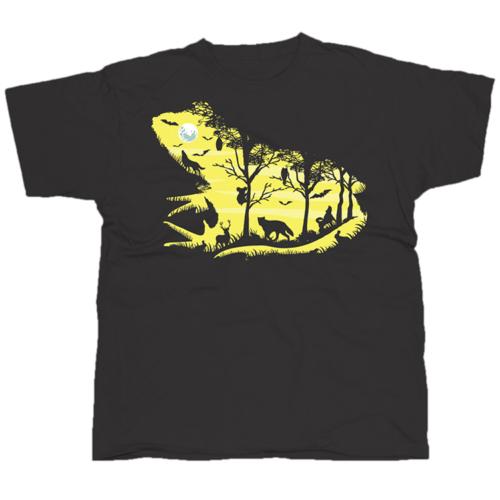 Froggy Night mintás póló