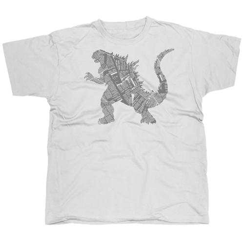 Kaiju mintás póló