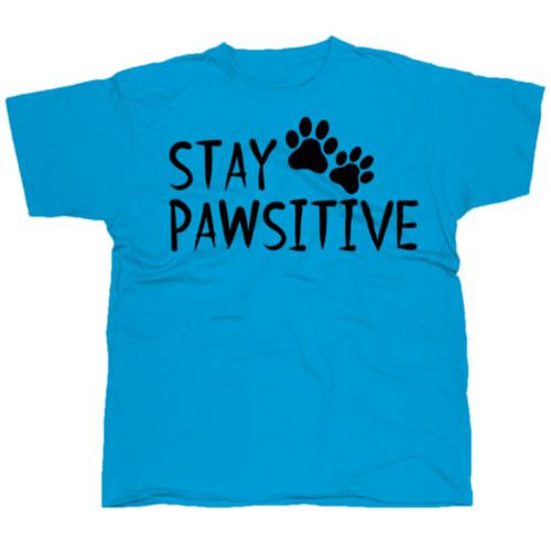 Stay pawsitiv póló