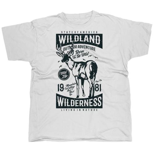 Wildland szarvasos póló