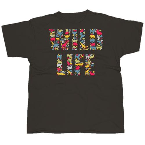 Wild Life mintás póló