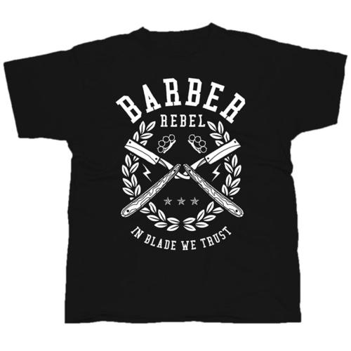 Barber Rebel mintás póló