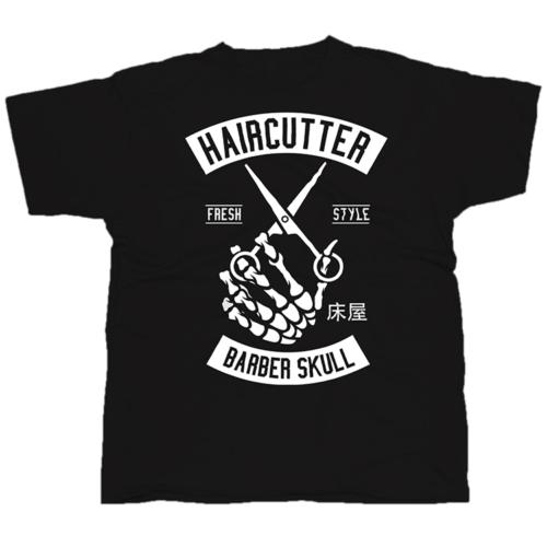 HairCutter mintás póló