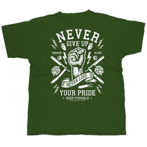 Soha ne add fel póló
