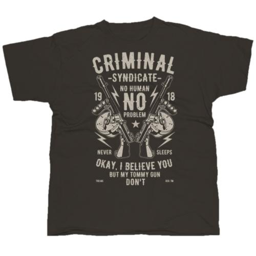 Criminal Syndicate póló