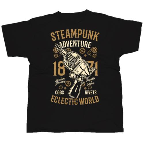 Steampunk Adventure póló
