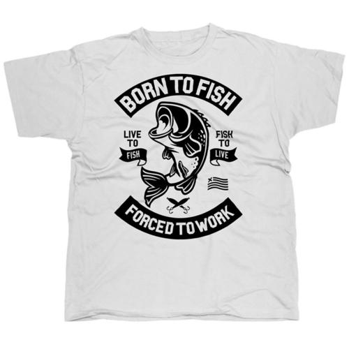 Born To Fish horgász póló