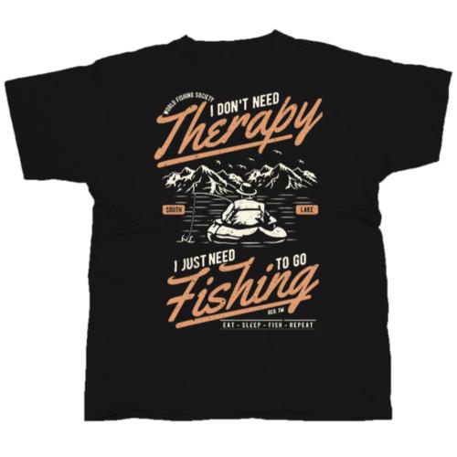 Fishing Therapy horgász póló