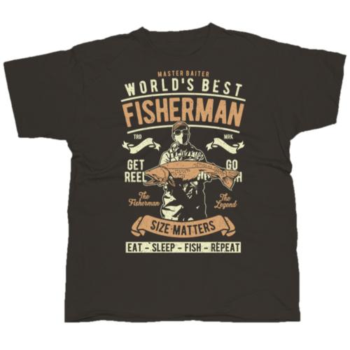 World_s Best Fisherman horgász póló