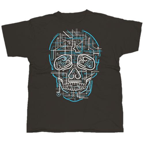 Electric Skull póló