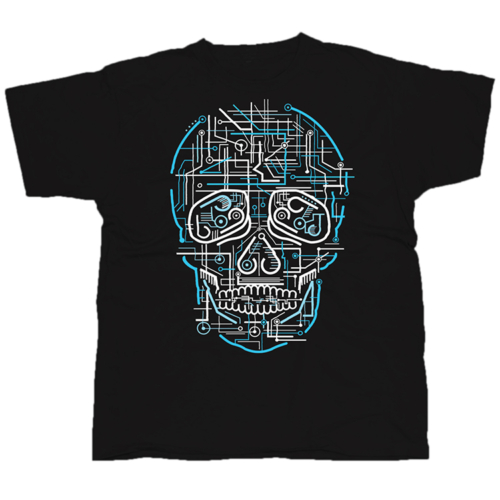 Electric Skull póló