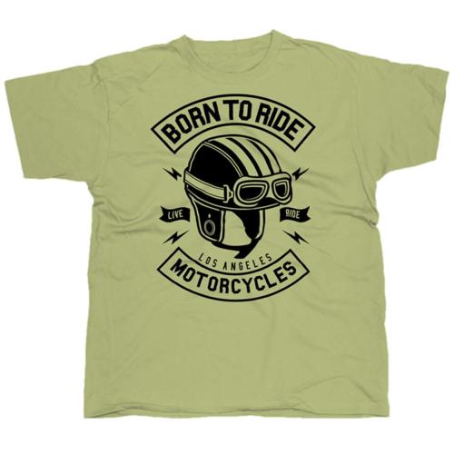 Born To Ride Motorcycles póló