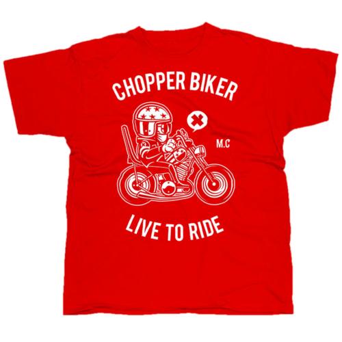 Chopper Biker póló