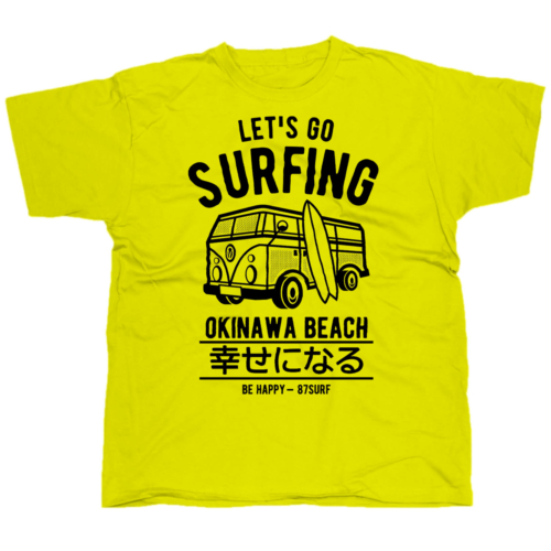 Lets go surfing póló
