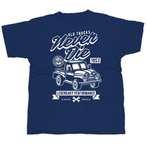 Old trucks pickup póló