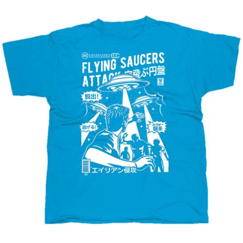 Flying Saucers Attack póló