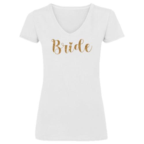 """""""Bride"""" Menyasszony póló Lánybúcsúra"""