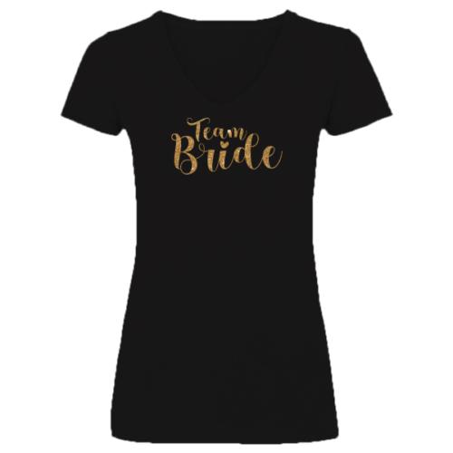"""""""Team Bride"""" Menyasszony barátnői póló Lánybúcsúra"""