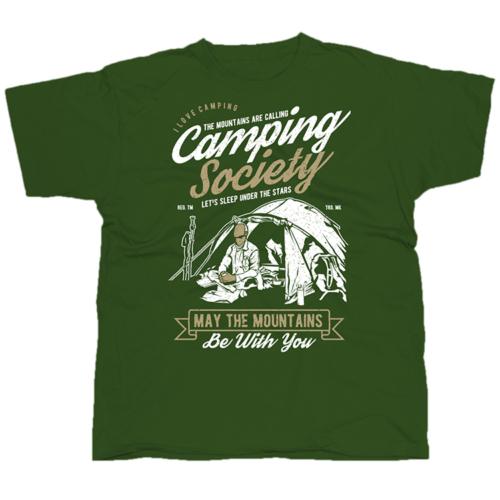 Camping Society póló