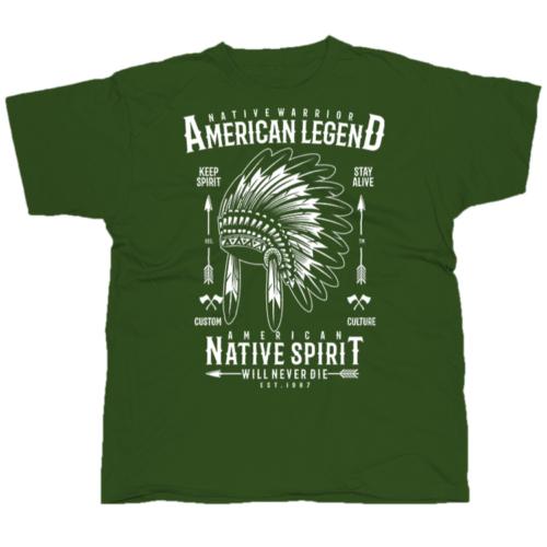Native Warrior póló
