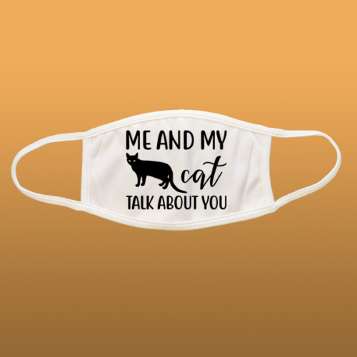 Me And My Cat mintás szájmaszk