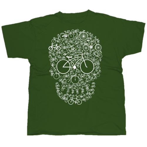 Bicycle Skull póló
