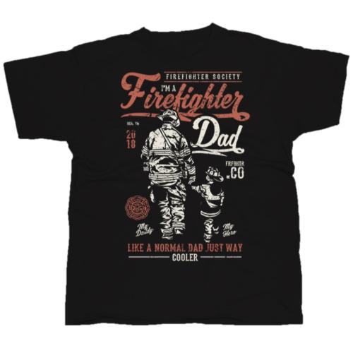 Fire Fighter Dad póló