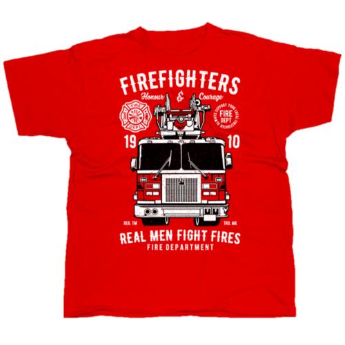 Firefighters Truck póló