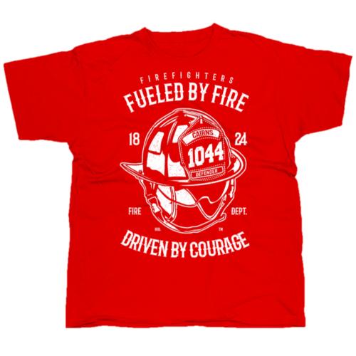 Fueled By Fire póló