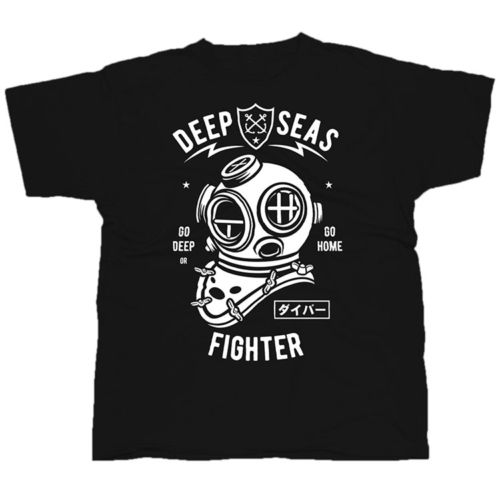 Deep Seas Fighter póló