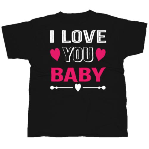 I Love You Baby póló