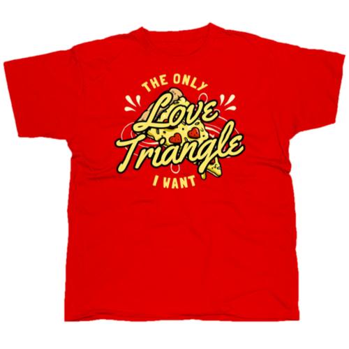 Love triangle póló
