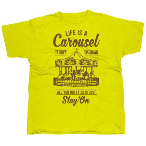 Carousel körhintás póló