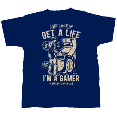Get A Life gamer póló
